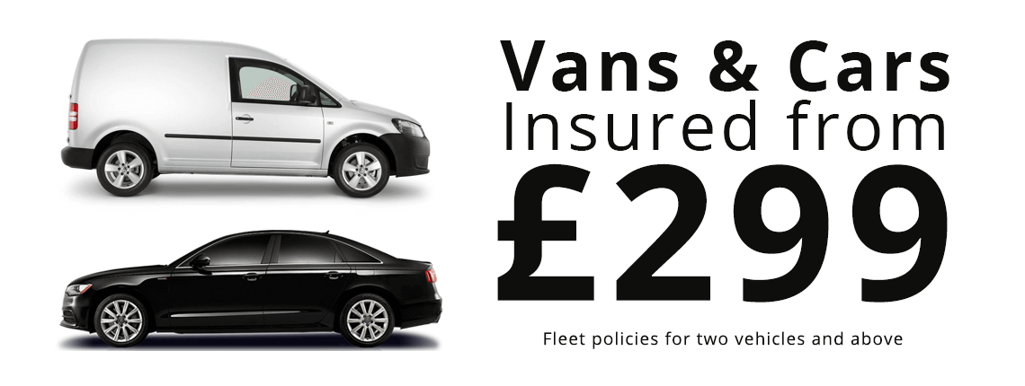 vans and cars from £299